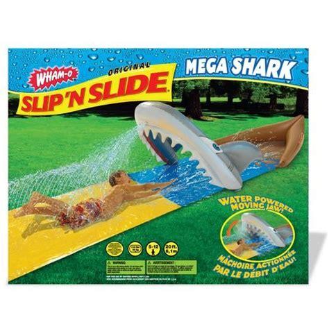 backyard slip n slide backyard mega shark slip n slide water slides