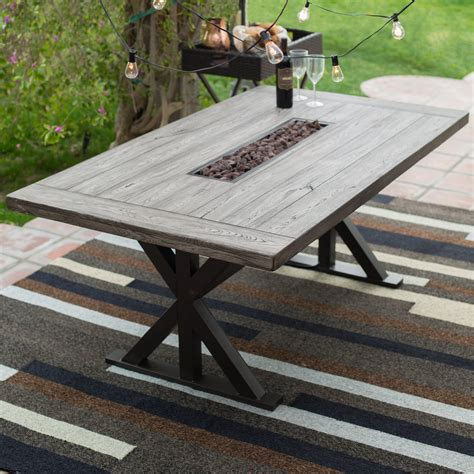 faux wood patio table faux wood patio tables home outdoor decoration