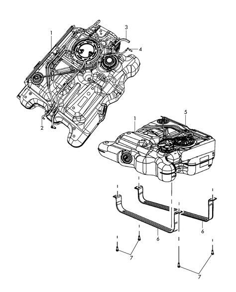 Rautan Tank by Volkswagen Routan Fuel Tank 3 8ltr 4 0ltr