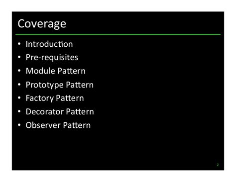 javascript queue pattern javascript design patterns