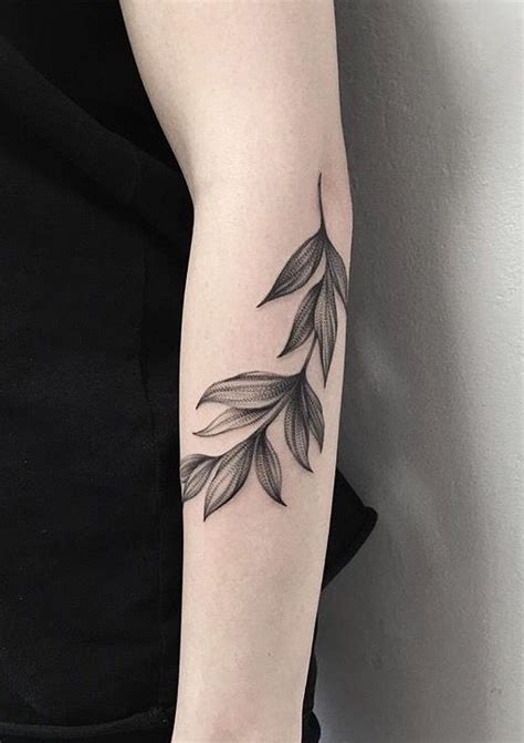 minimalist tattoo dc minimalist black leaves tattoo tattoos pinterest