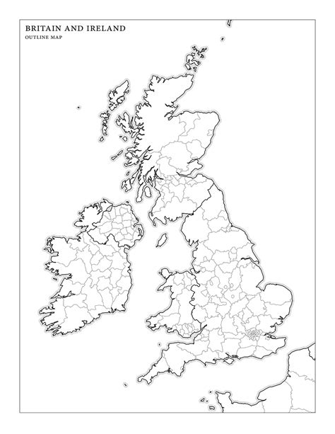 County Map Of Ireland Outline by Blank Map Of Ireland With County Borders