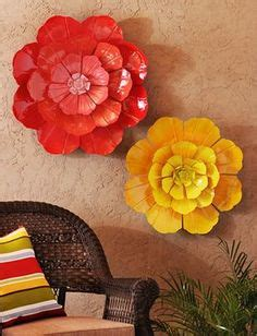great metal wall decor flowers decorating ideas images in wall art ideas design red flower metal wall art decor
