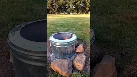 smokeless fire pit fail youtube