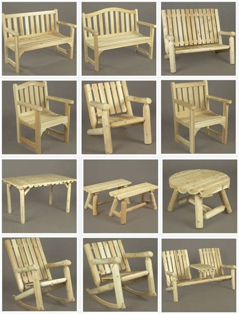 cedar log bench wood furniture pinterest rustic cedar furniture available at www adirondackauthority com palette pinterest cedar