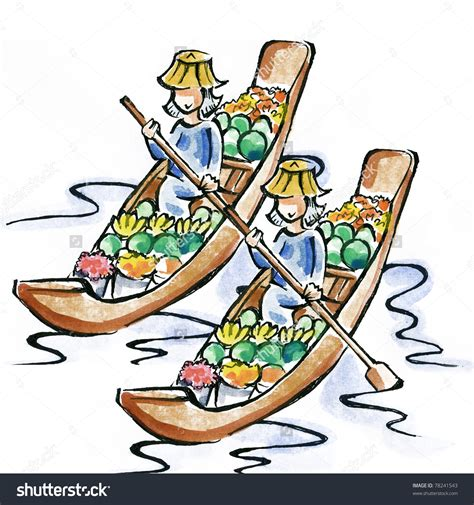 floating boat clipart floating market clipart clipground
