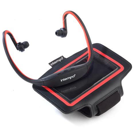 Earphone Bluetooth Sport Nike intempo ee1784rbstk bluetooth wireless sports earphones