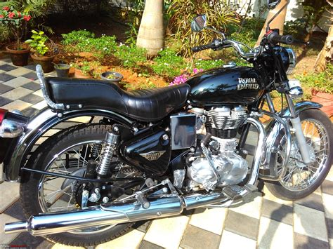 best royal enfield electrified my royal enfield electra team bhp