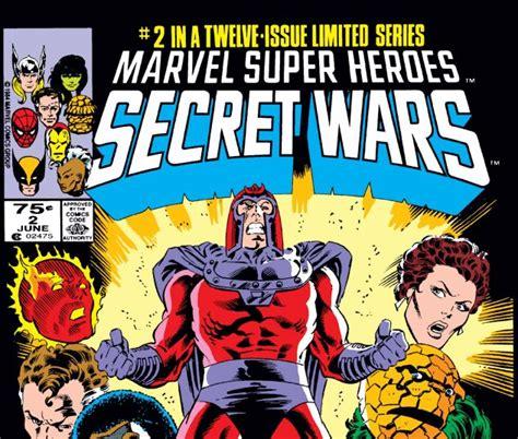 libro secret wars secret wars secret wars 1984 2 comics marvel com