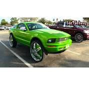 Ford Mustang LIFTED On 30 DUB Delusion Floaters 1080p HD YouTube