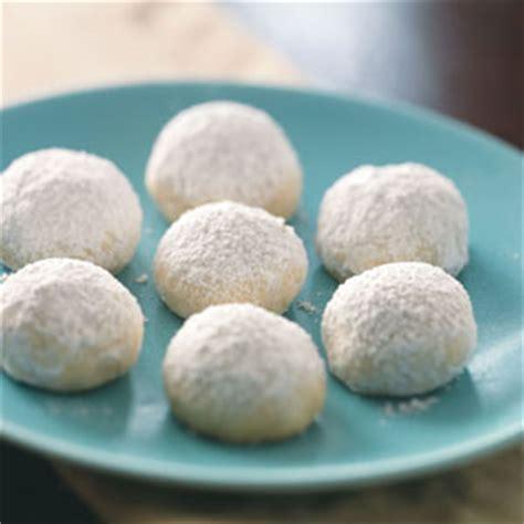 nutty orange snowballs recipe taste of home