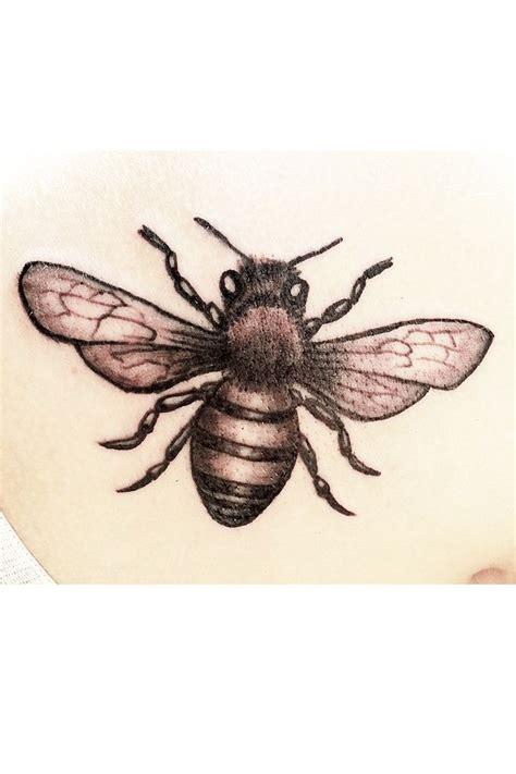 honey bee tattoo pin by mustoe on bee