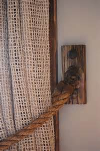 Burlap Drapes 78 Curtain Tie Backs To Take Inspiration From Patterns Hub