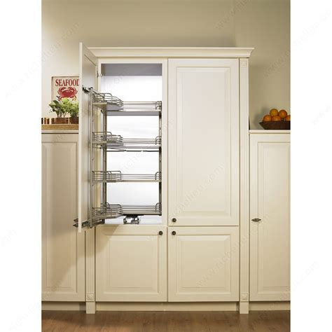 Pantry Cabinet Pull Out System by Maple Tandem Depot Sliding System Richelieu Hardware