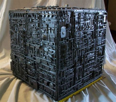 Borg Cube Interior by Scratchbuilt Borg Cube More Models The O