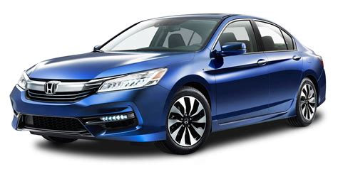 Blue Honda Accord Hybrid Car Png Image Pngpix