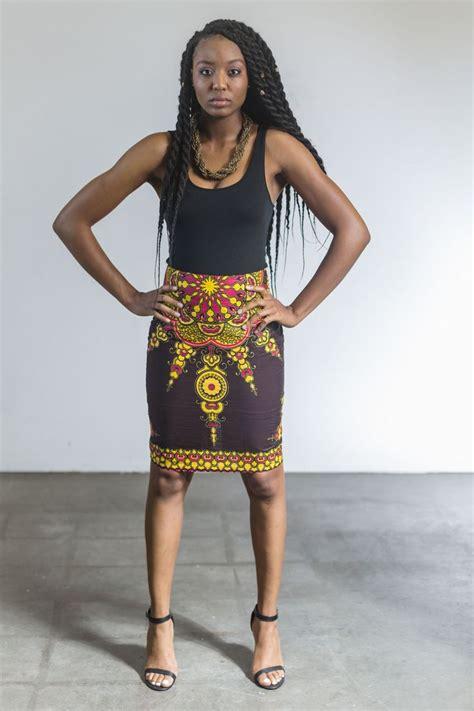 african attire skirt star african print pencil skirt skirts african print