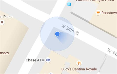 That Blue Dot In Google Maps Now Shows Your Direction | that blue dot in google maps now shows your direction