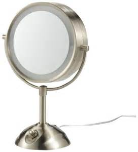 jilbere lighted makeup mirror conair nickel tech accessories 47 off conair