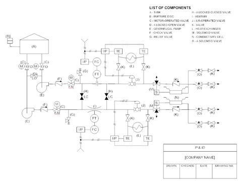 draw schematic diagram p id software get free symbols for piping and