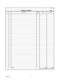 7 best images of printable blank ledger sheet free