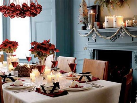 Dining Room Christmas Decorations by Decoration Christmas Dining Room Table Decorations