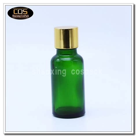ebx20b series green glass essential bottles 5ml 10ml 15ml 20ml 30ml 50ml 100ml cospack