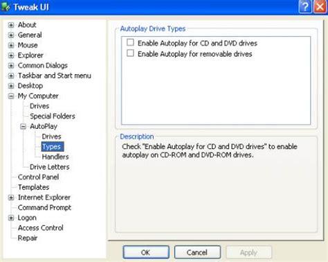 membuat xp autorun di windows membuat disable autorun pada windows xp kumpulan foto