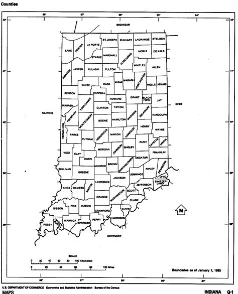 map of grant county indiana indiana county map