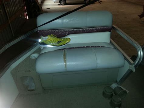 pontoon boat seat tape 2000 tracker party barge face lift pontoon forum gt get