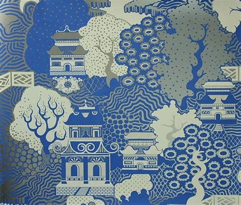 willow pattern wallpaper 17 best images about chinese wallpaper on pinterest