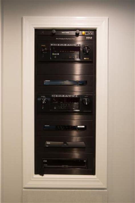 custom audio video racks gallery kole digital