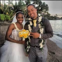 Wwe wrestlers naomi mccray and jonathan fatu get married in hawaii