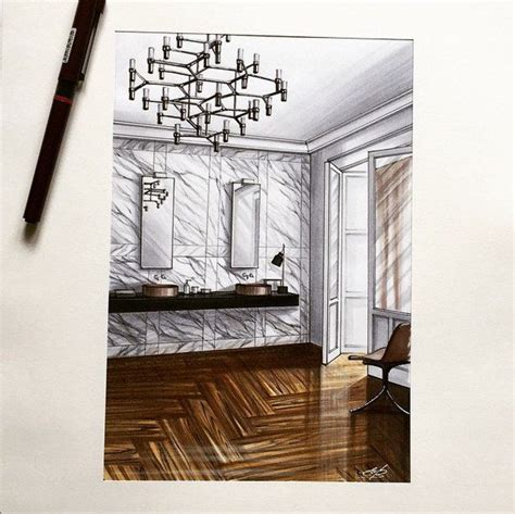 interior sketches interior sketches by our teacher elena ivannikova on
