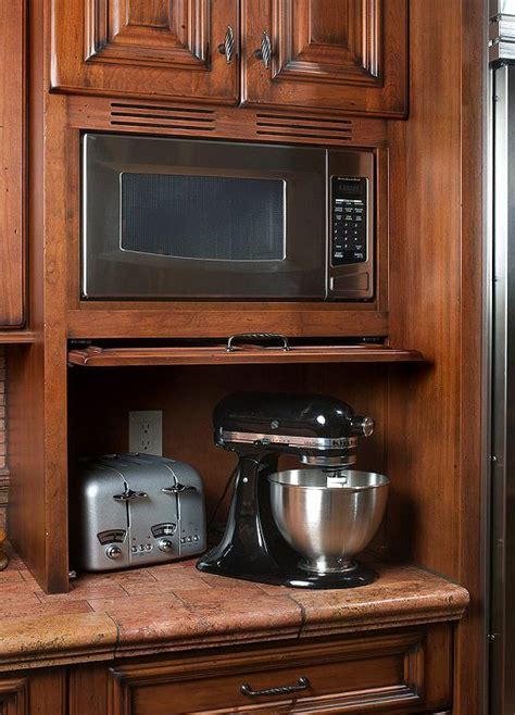 microwave in kitchen cabinet microwaves over 25 years of custom cabinets