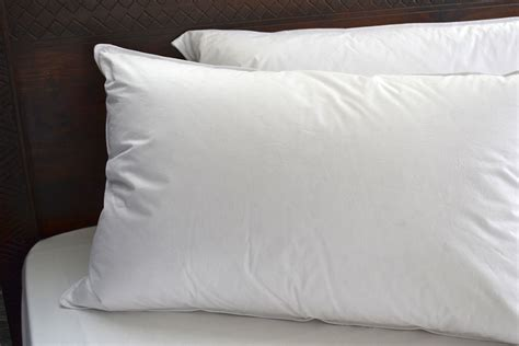 goose down bed pillows duck goose down pillows natural bed company