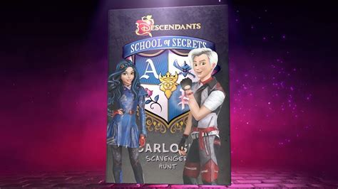 school of secrets carlos s scavenger hunt disney descendants books quot carlos s scavenger hunt quot book trailer disney