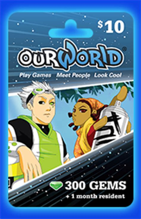 Ourworld Gift Card - ourworld newsletter