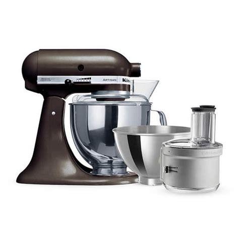 KitchenAid Artisan KSM160 Stand Mixer Truffle w/ Food