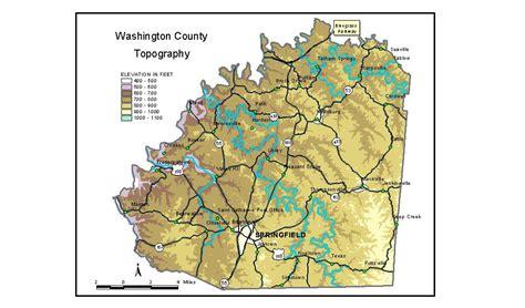 kentucky groundwater map groundwater resources of washington county kentucky