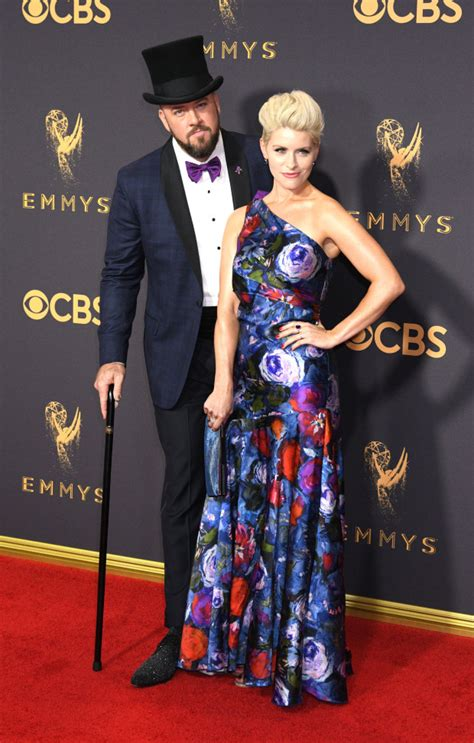 chris sullivan red carpet see the fashion of the 69th emmy awards outside the