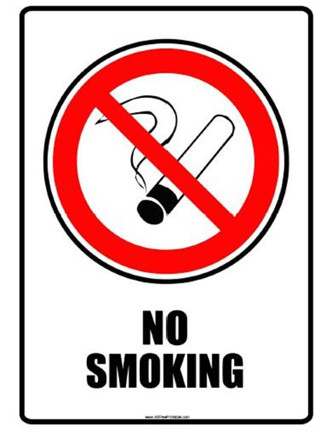 no smoking sign to download free printable no smoking signs free clipart best