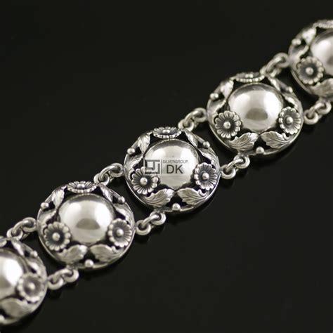 vintage silver bracelet n e from bracelets