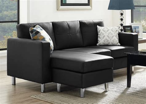 small black sectional 75 modern sectional sofas for small spaces 2017