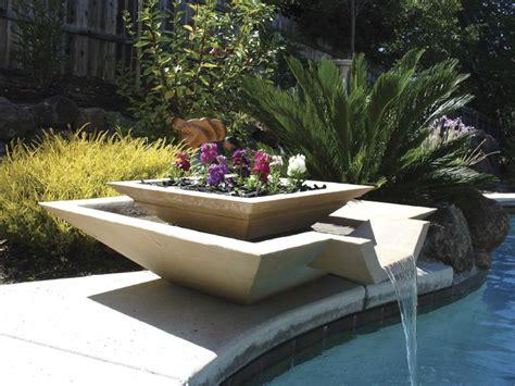 modern outdoor fountain httplometscom