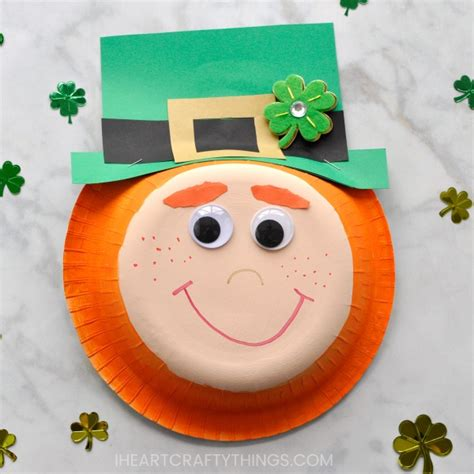 Leprechaun Paper Craft - easy paper bowl leprechaun craft i crafty things