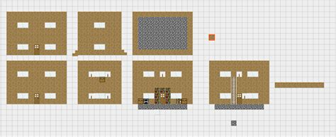 minecraft pe house plans minecraft blueprints wooden house 1 by prettyblood14 on