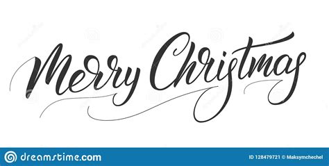 christmas calligraphy xmas holiday lettering design merry christmas script calligraphy stock