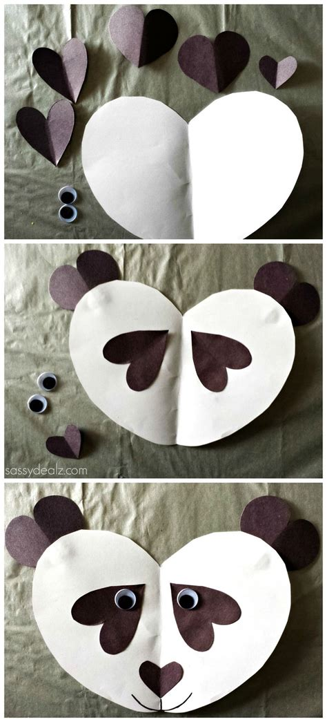 How To Make A Panda Out Of Paper - 17 best images about getting crafty on fall