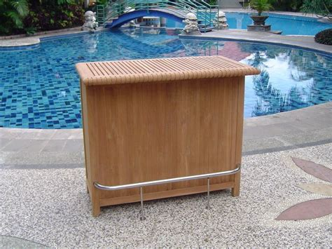 a grd teak bar table cabinet teak garden outdoor patio